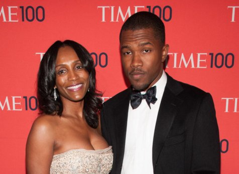 NEW YORK, NY - APRIL 23: Frank Ocean (R) and mother Katonya Breaux Riley attend the 2013 Time 100 Gala at Frederick P. Rose Hall, Jazz at Lincoln Center on April 23, 2013 in New York City. (Photo by D Dipasupil/FilmMagic)