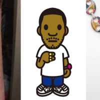 Why I Choose A BAPE Character As My first Tattoo
